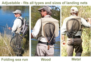 Smith creek net holster for Best fly fishing nets