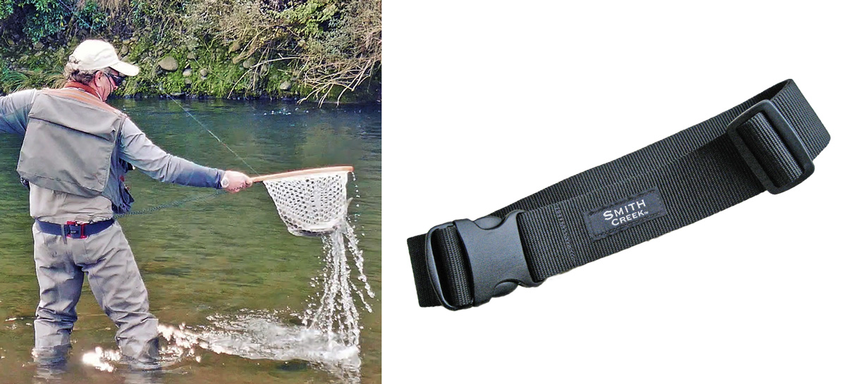 Click photos for Wading Belt page